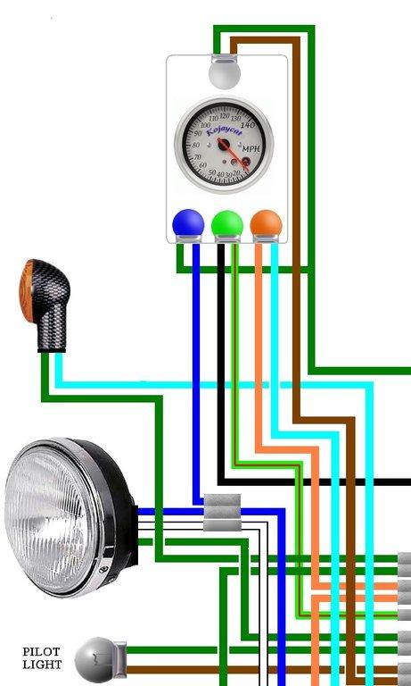 Schema Electrique Honda 125 Cg Bresil