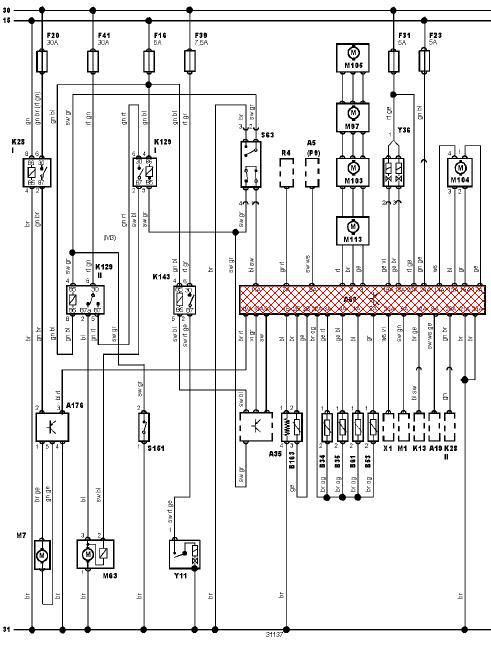 schema electrique climatisation peugeot 206
