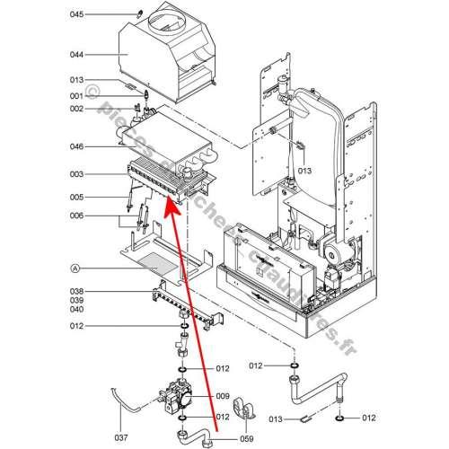 schema electrique ventilateur moteur