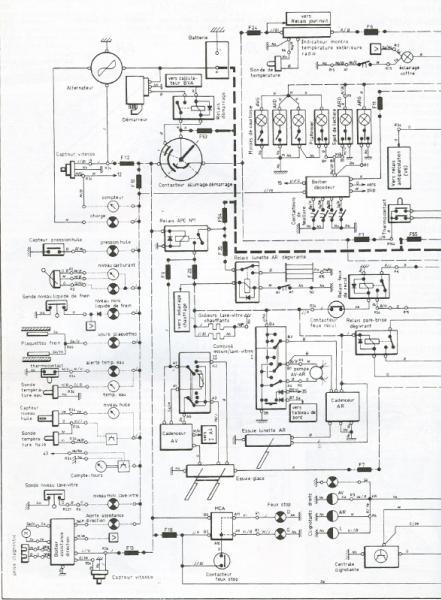 schema electrique c2 hdi