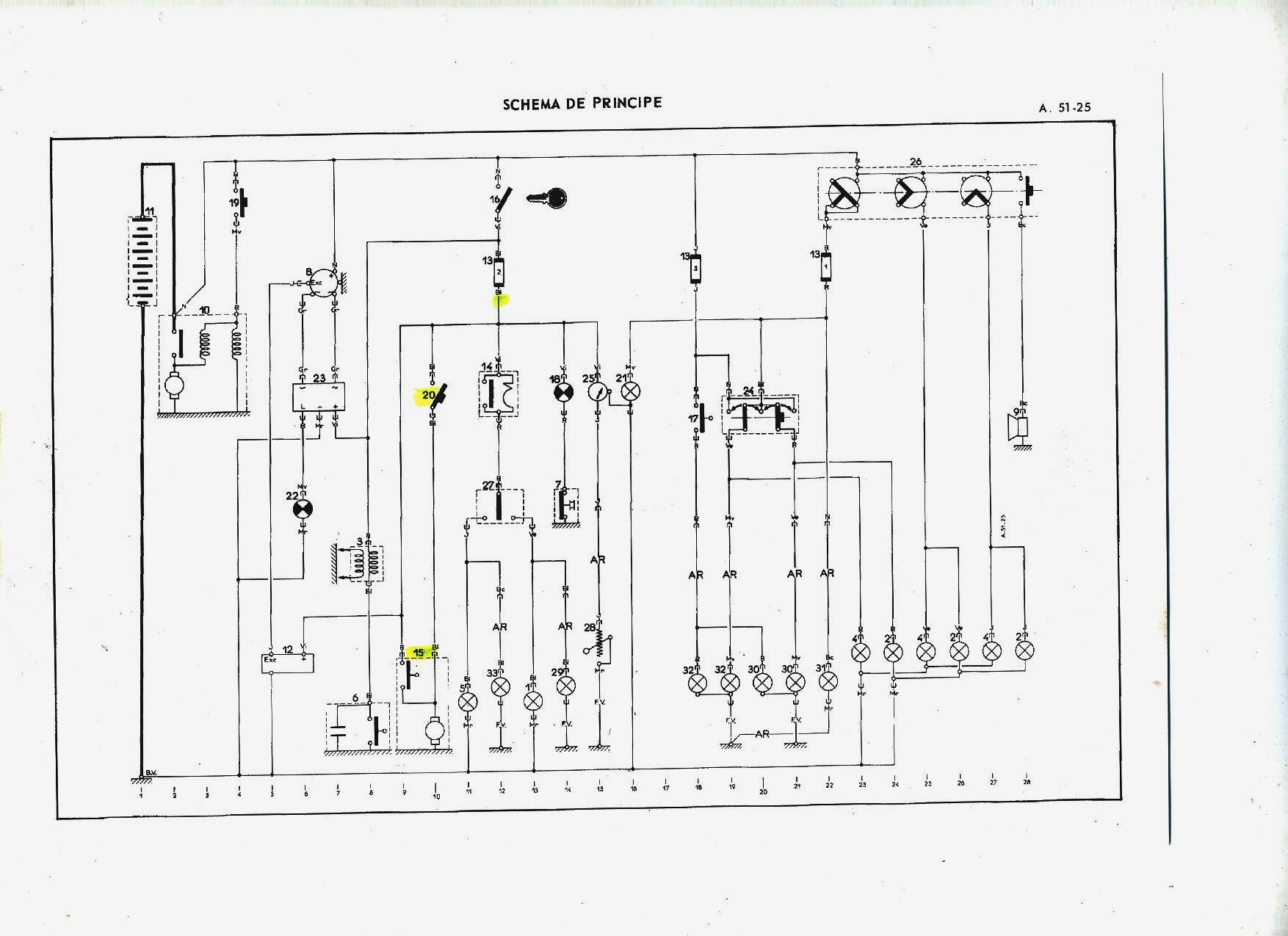 schema electrique fiat bravo 1997
