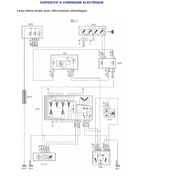 schema electrique moteur 406 hdi