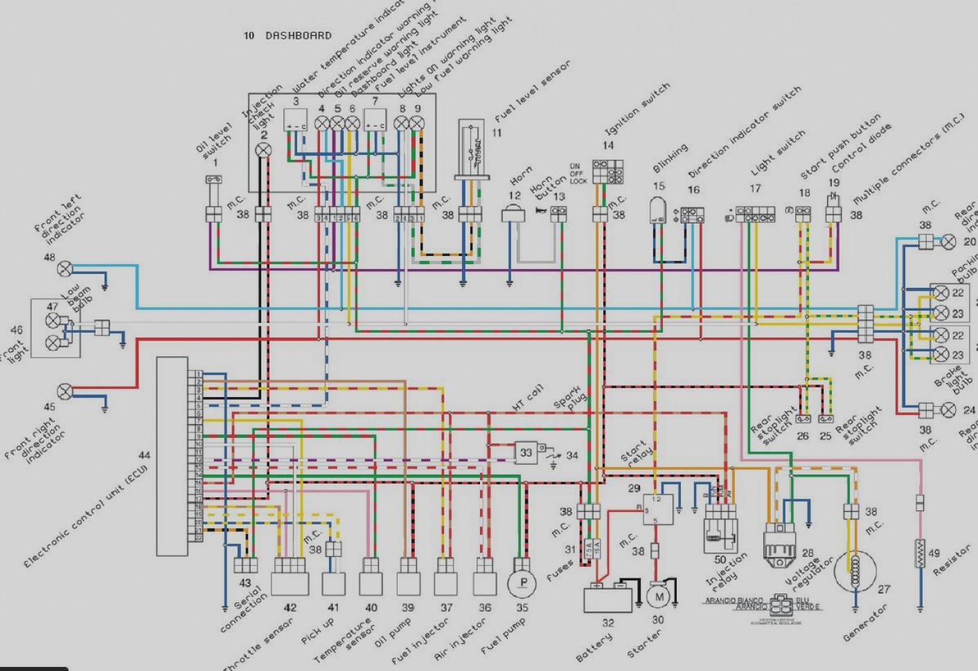 Schema Electrique Aprilia Rsv 1000