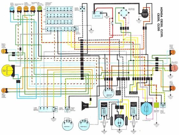 Schema Electrique 750 Dr