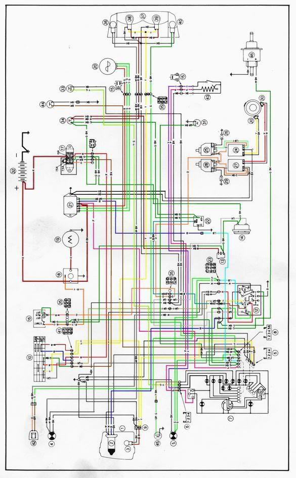 Schema Electrique Ducati 748