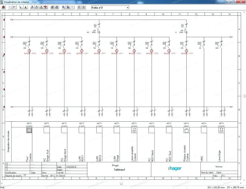 Logiciel Schema Electrique Unifilaire Maison Gratuit | Ventana Blog