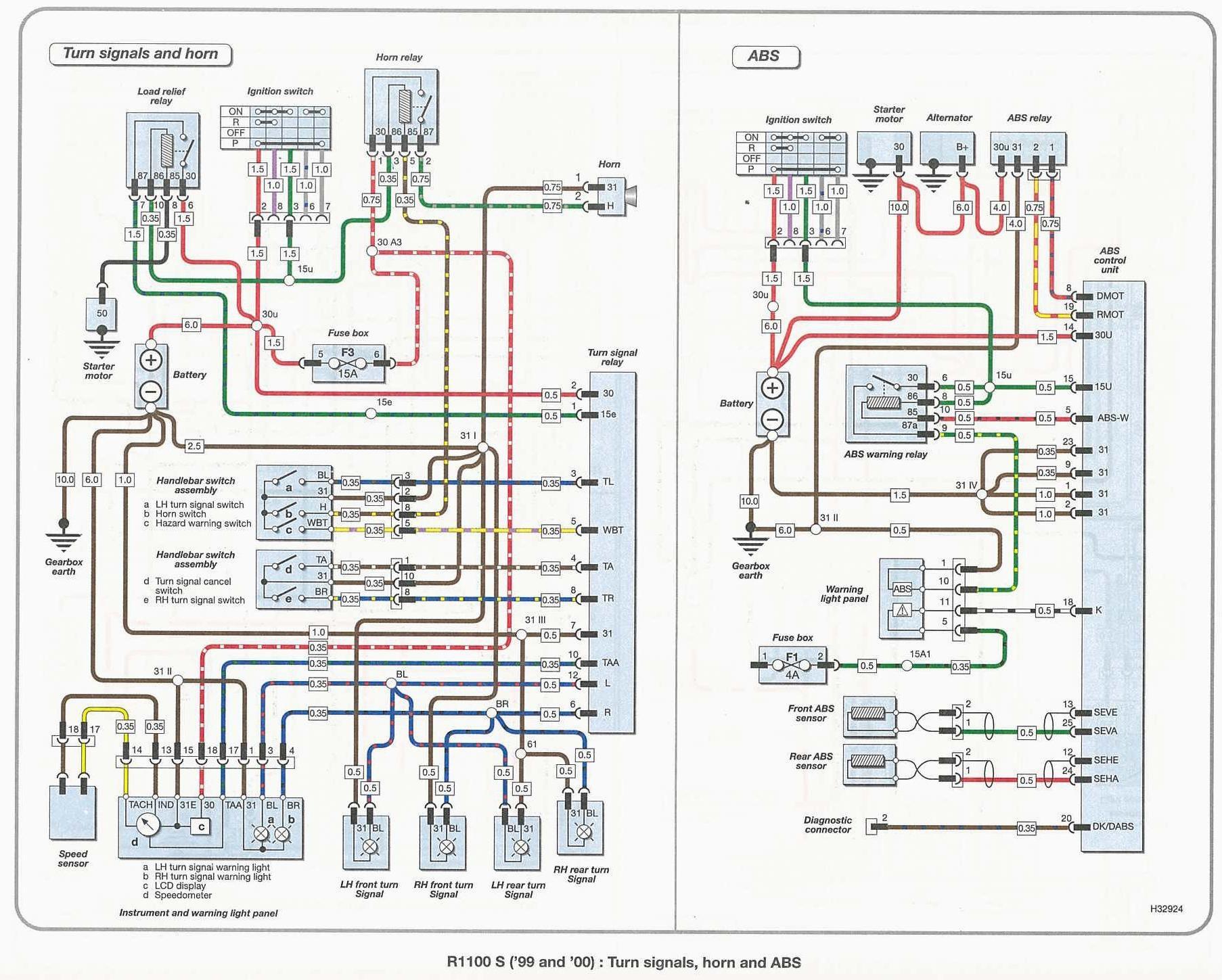 Schema Electrique Bmw R 1100 Rt