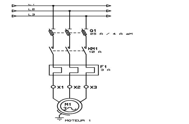 schema d u0026 39 un moteur electrique