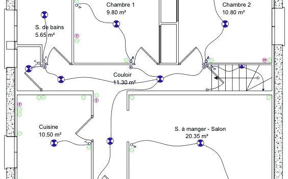 schema electrique pc25