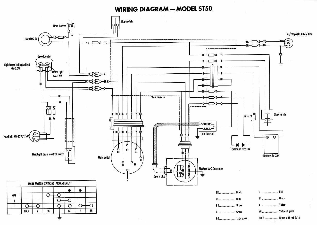 schema electrique remorque 6 fils