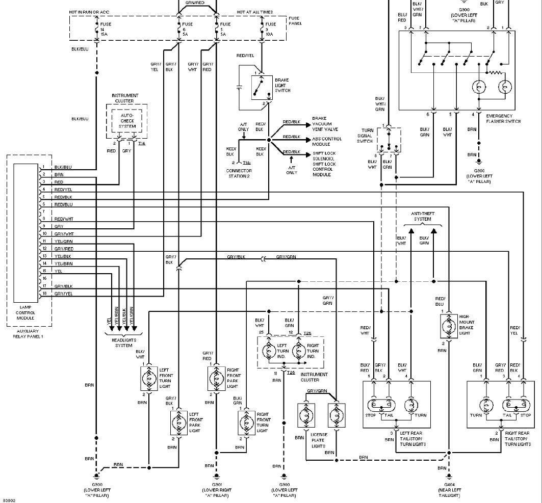 Schema Electrique C5 Phase 1