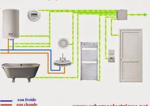 Schema electrique porte sectionnelle bois eco - Schema salle de bain ...