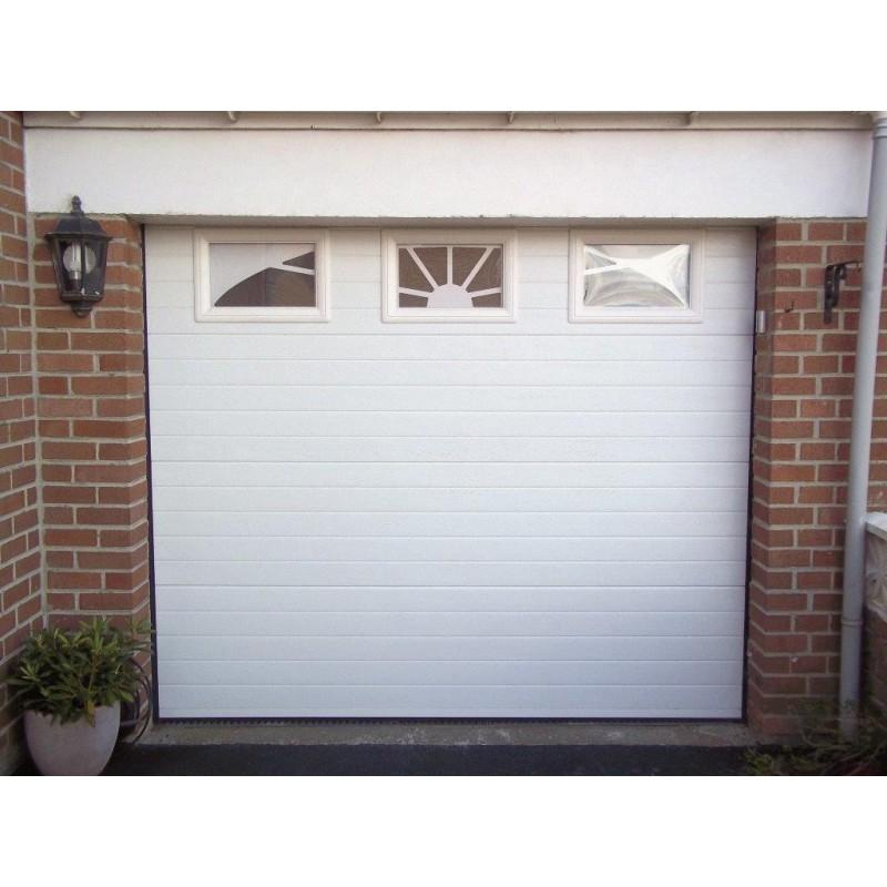 Prix porte de garage en pvc bois eco - Prix porte garage ...