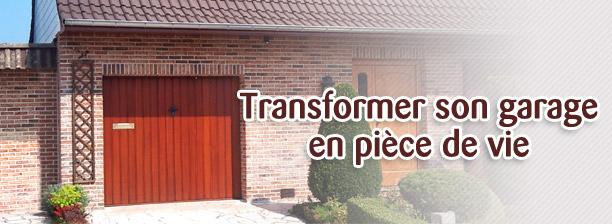 Remplacer sa porte de garage par une baie vitrée - bois-eco-concept.fr
