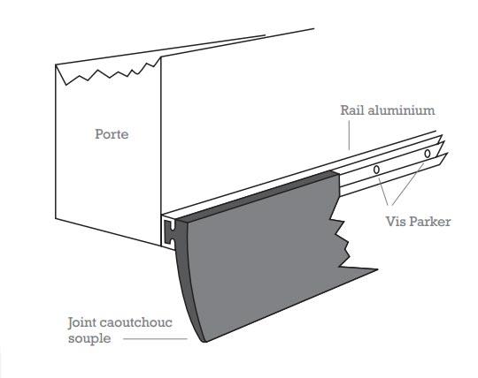 joint boudin pour porte de garage bois eco