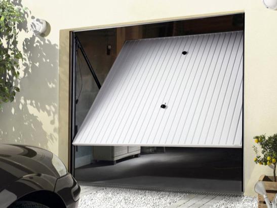 porte de garage enroulable sur mesure lapeyre bois eco. Black Bedroom Furniture Sets. Home Design Ideas