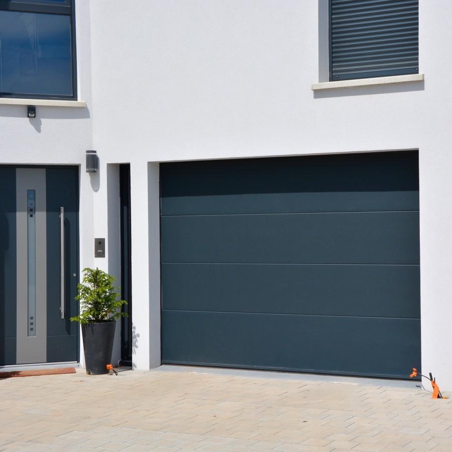 Porte de garage usine bois eco Porte de garage a la francaise sur mesure