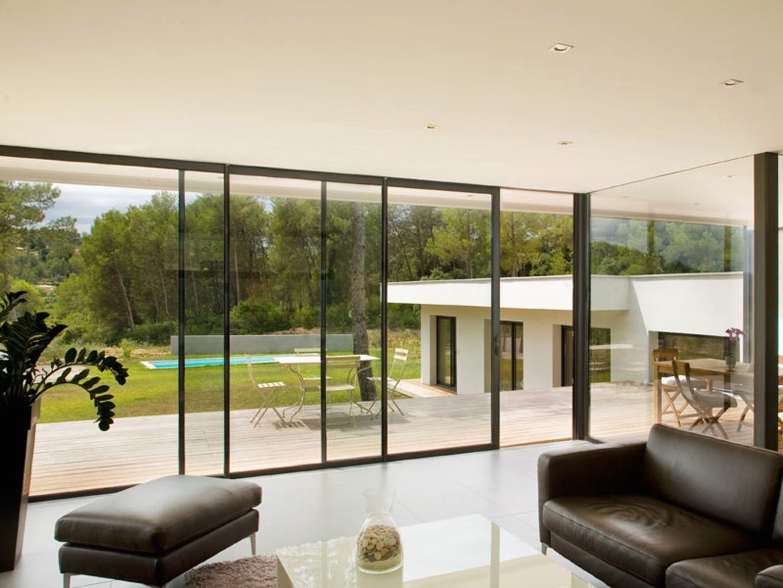 Baie vitrée pour remplacer porte de garage brico depot - bois-eco-concept.fr